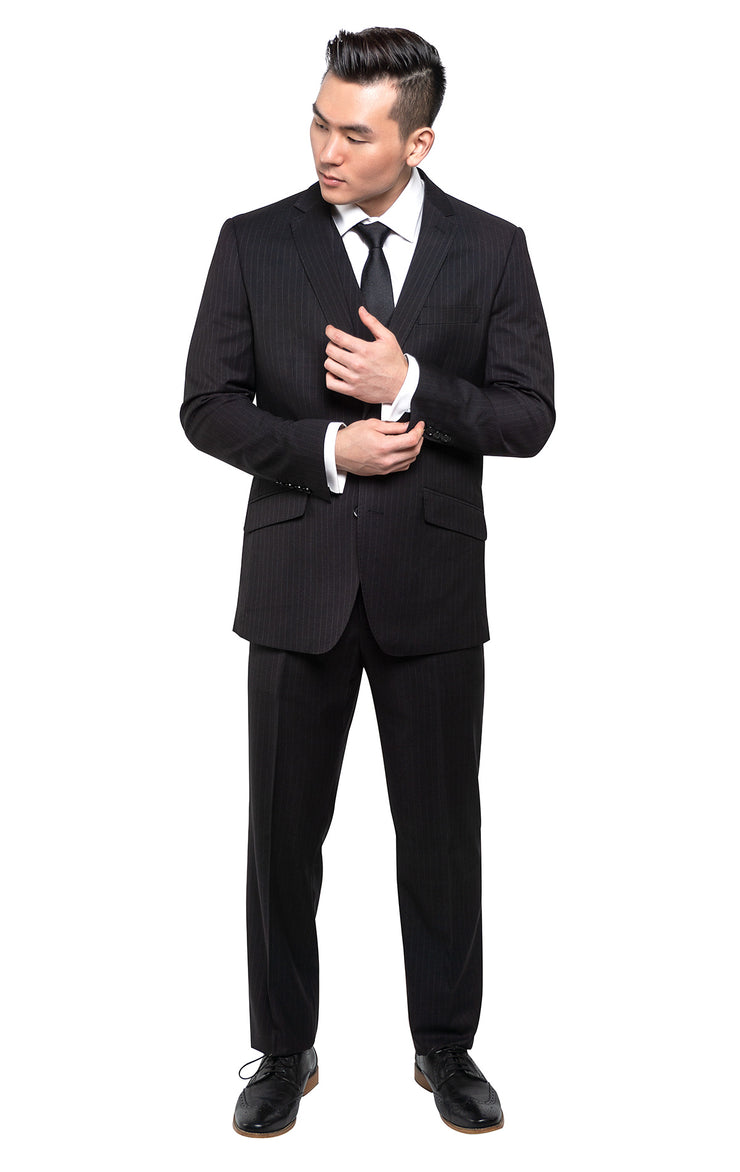 CLOONY BLACK STATEMENT SUIT