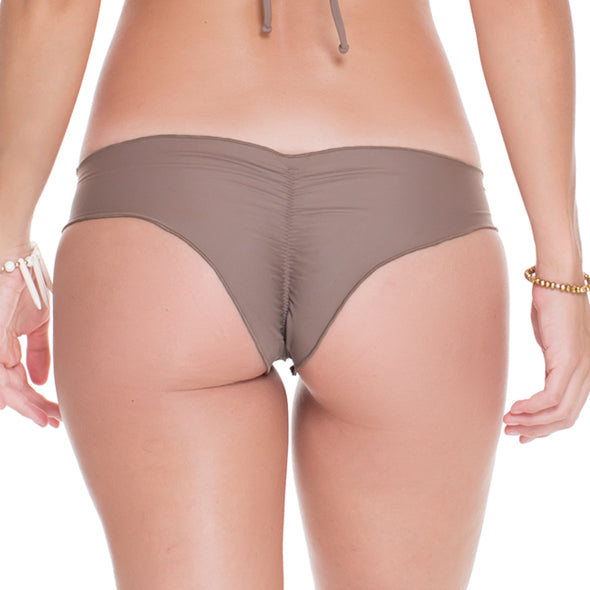 COSITA BUENA - Wavey Brazilian Ruched Back Bottom-WHC