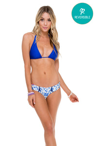 COSITA BUENA - Halter Top & Curve Stitched Reversile Moderate Bottom • Multicolor