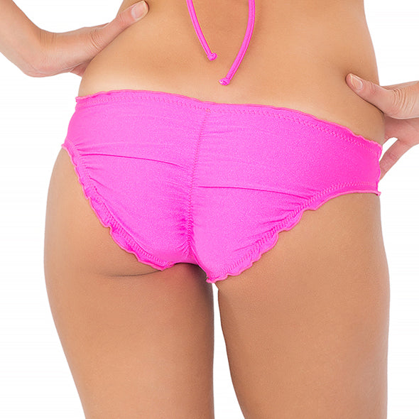 COSITA BUENA - Full Ruched Back Bottom-WHC
