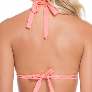 SUNSET ANGEL - Triangle Halter Top