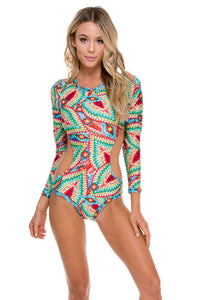 WILD HEART - Touch The Sky Bodysuit • Multicolor