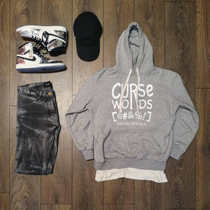 Curse Words - (Assorted Tri Blend Colors) Unisex Hoodie