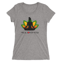 Millie Loves Yoga - Ladies' short sleeve t-shirt