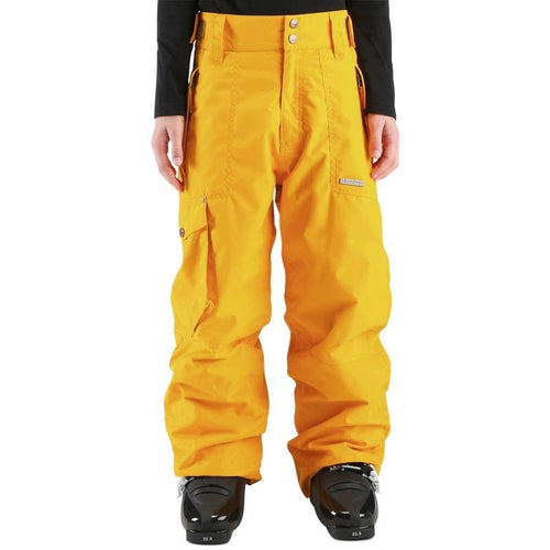 Wed'ze by Decathlon Boys Yellow Evostyle Waterproof Ski/Snow Pants
