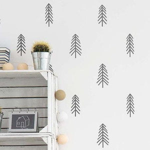 Tree Wall Stickers, Wall Sticker, Nordic Home Accessories, Elm & Blue, Style Life Home