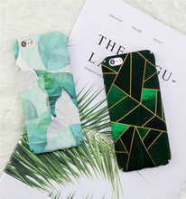 Green Geometric iPhone Case, Phone Case, Nordic Home Accessories, Elm & Blue, Style Life Home