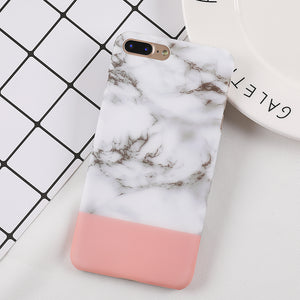 Marble and Pink iPhone Cover, Phone Case, Nordic Home Accessories, Elm & Blue, Style Life Home