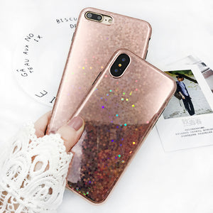 Rose Gold Sequins iPhone Case, Phone Case, Nordic Home Accessories, Elm & Blue, Style Life Home