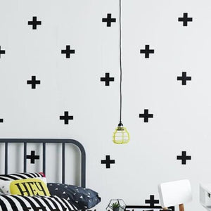 Plus Wall Stickers, Wall Sticker, Nordic Home Accessories, Elm & Blue, Style Life Home