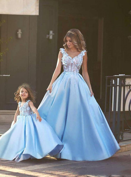 Matching Mother Daughter Clothes Dress