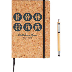 Notebook Cork Vintage - keeps all your thoughts secure