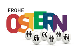 Postcard Frohe Ostern