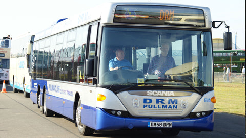 DRM buses have 7% fuel saving in the first 3 weeks!