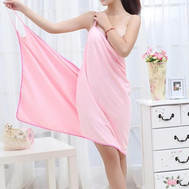 Soft Microfiber Towel Dress