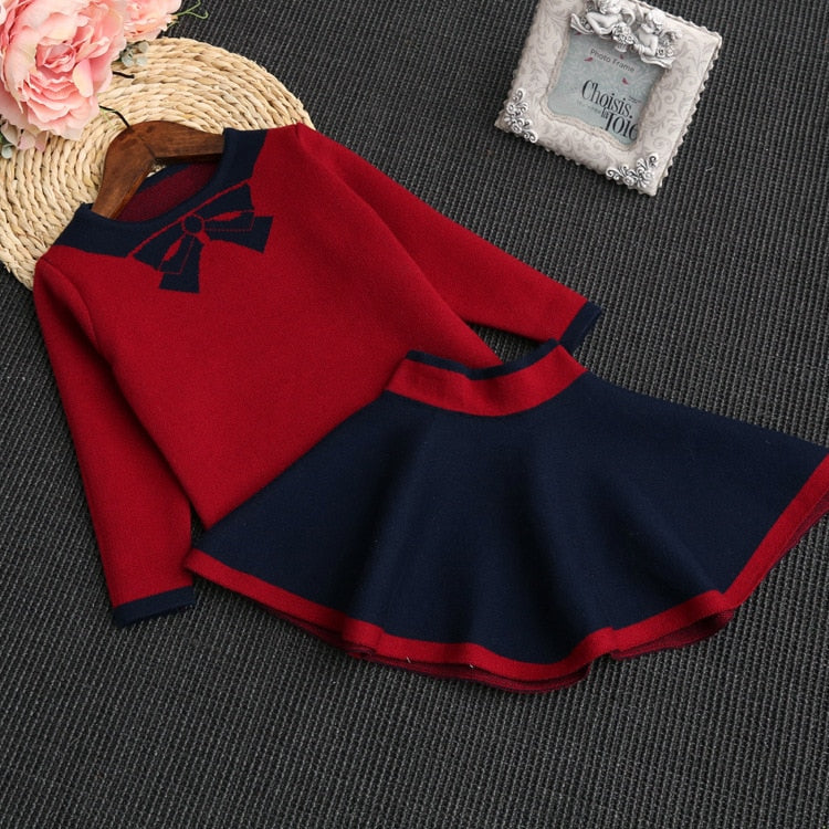 Karina Knitted Outfit Set