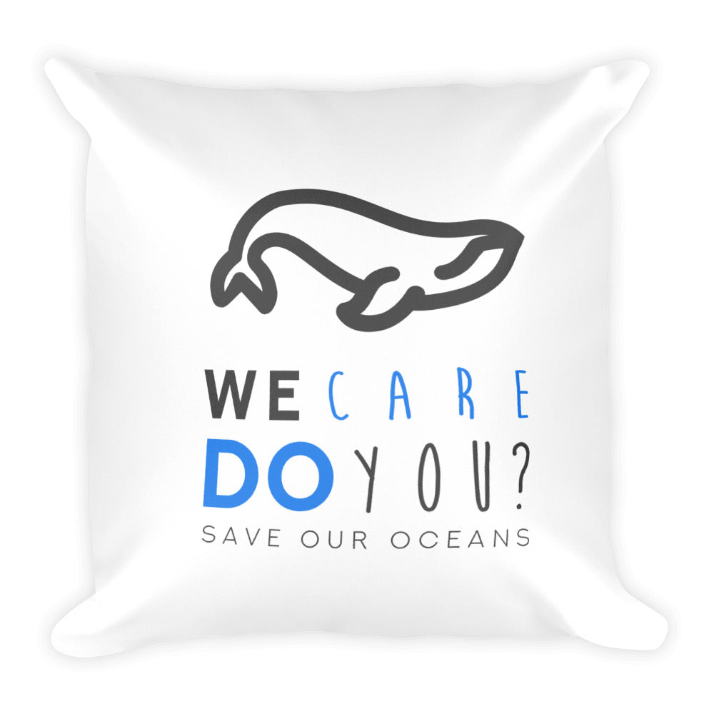 Ocean Care Square Pillow