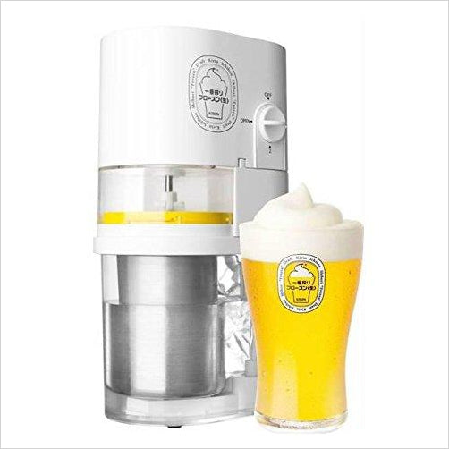 Frozen Beer Slushy Maker Super-Kitchen - www.Gifteee.com - Cool Gifts \ Unique Gifts - The Best Gifts for Men, Women and Kids of All Ages