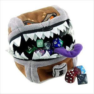 Dungeons & Dragons Mimic Gamer Pouch-Toy - www.Gifteee.com - Cool Gifts \ Unique Gifts - The Best Gifts for Men, Women and Kids of All Ages