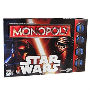 Monopoly Game Star Wars-Toy - www.Gifteee.com - Cool Gifts \ Unique Gifts - The Best Gifts for Men, Women and Kids of All Ages
