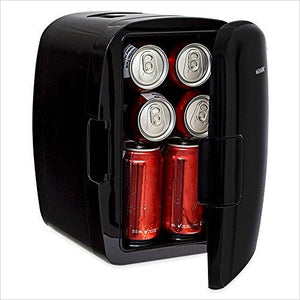 Portable 8 Can Mini Fridge Cooler & Warmer-Major Appliances - www.Gifteee.com - Cool Gifts \ Unique Gifts - The Best Gifts for Men, Women and Kids of All Ages