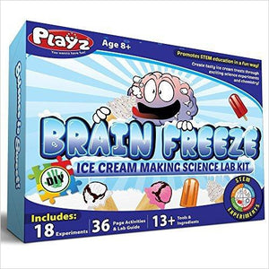 Ice Cream Making Science Kit-Toy - www.Gifteee.com - Cool Gifts \ Unique Gifts - The Best Gifts for Men, Women and Kids of All Ages