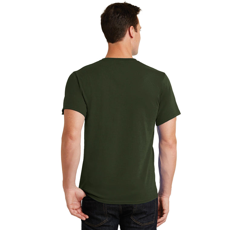 For A Second There You Bored Me To Death Men's Heavyweight Big & Tall Cotton Tee Shirt