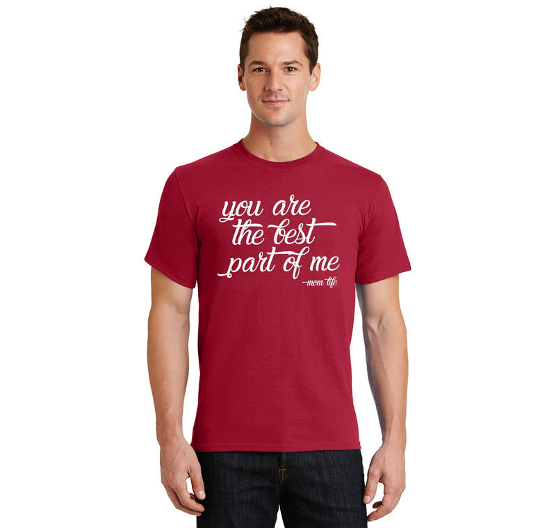 You are the best part of me Men's Heavyweight Cotton Tee Shirt