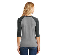 Meh Ladies Tri-Blend 3/4 Sleeve Raglan