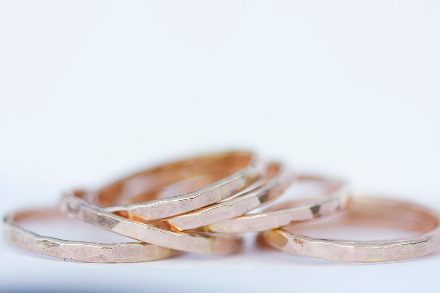 Wave Ring // Rose Gold, Gold, or Silver - Little Sycamore