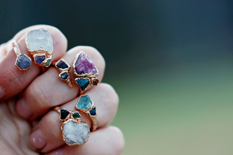 Mothers Wrap Ring // Rose Gold, Gold, Silver