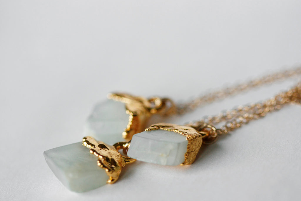 Luna Necklace // Gold - Little Sycamore