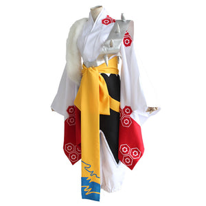 Anime  Inuyasha Sesshomaru Cosplay Costume