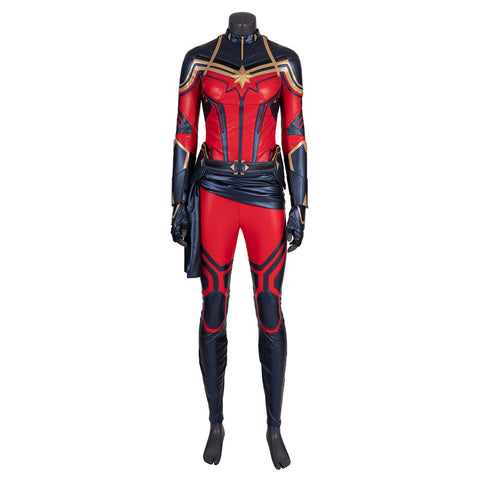 Avenges 4 Endgame Captain Marvel Cosplay Costume