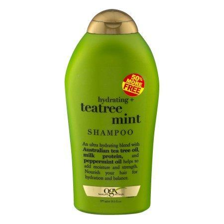 OGX Shampoo, Hydrating Teatree Mint - 19.5 oz bottle 60 Count