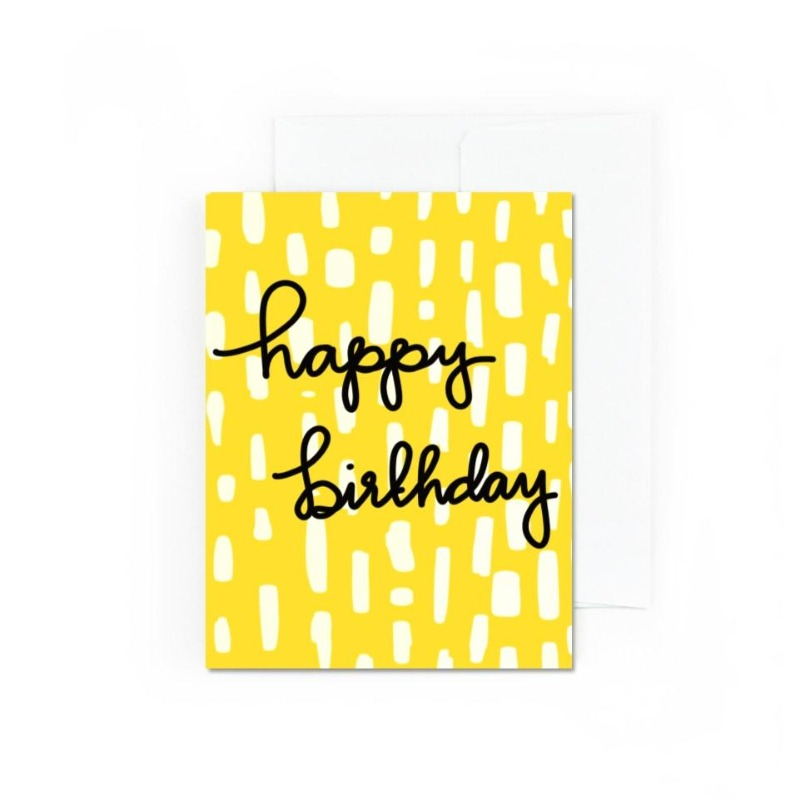 Cheery Happy Birthday Card