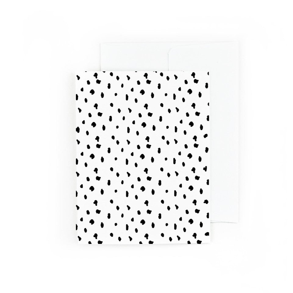 Seeing Spots Greeting Card