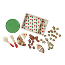 Melissa & Doug Toys Springfield, Illinois - Wooden Pizza Party Play Set