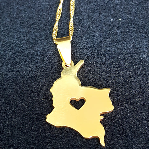Colombia Gold Plated Necklace - 1st Culture