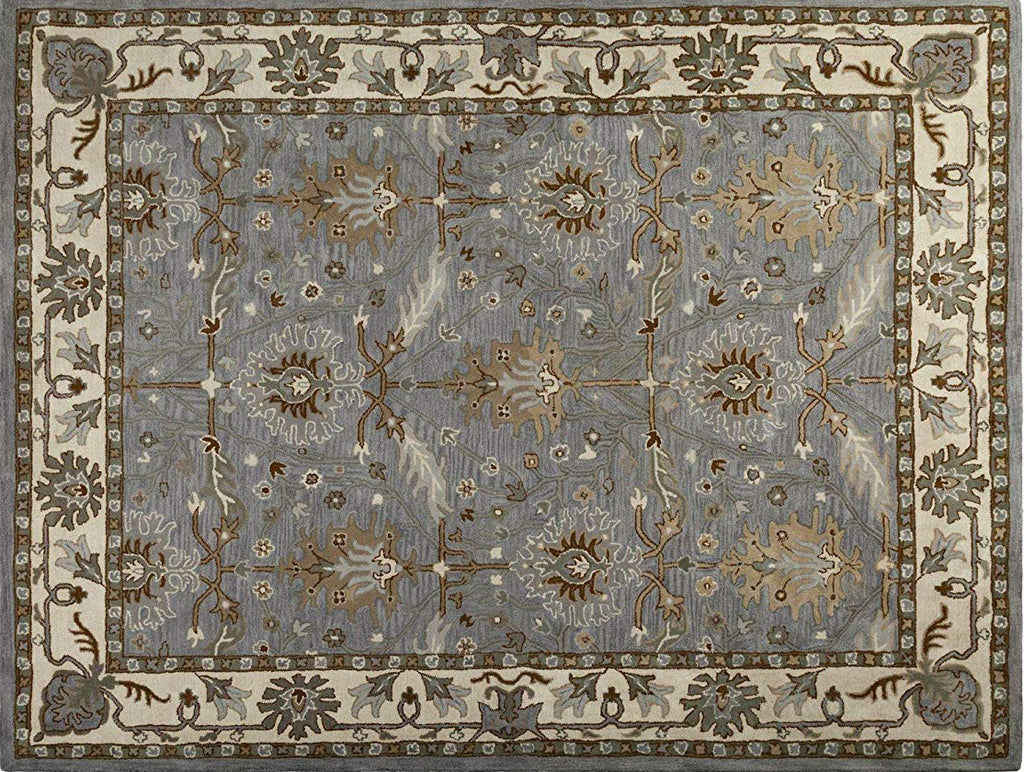 Caspian Hand-Tufted Wool Rug Area Rug 8 X 10 - T302-IN-203-8X10