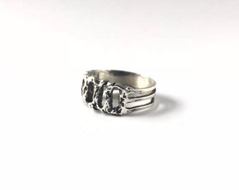 Erin Keary Sterling Silver Rope Ring