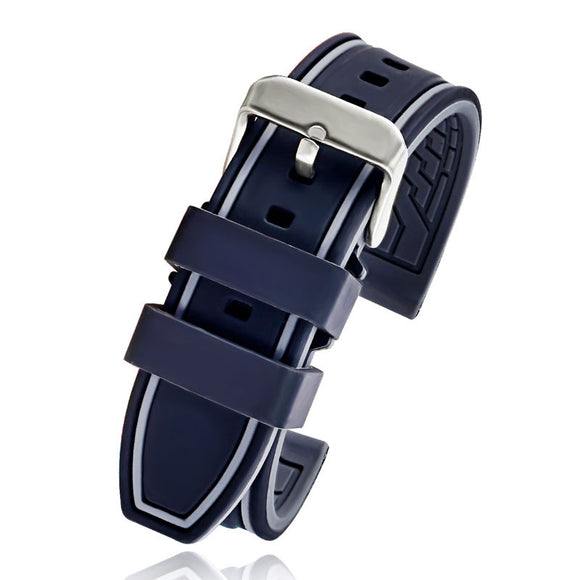 Diver Rubber Watch Band Strap - thema cave