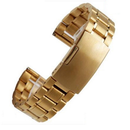 Folding Stainless Steel Watch Band - thema cave