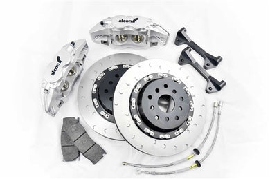 Shop Alcon Monobloc Brake Kit - BMW E82 1M Front 6 Piston Monobloc 380 X 32MM - AutoTecknic