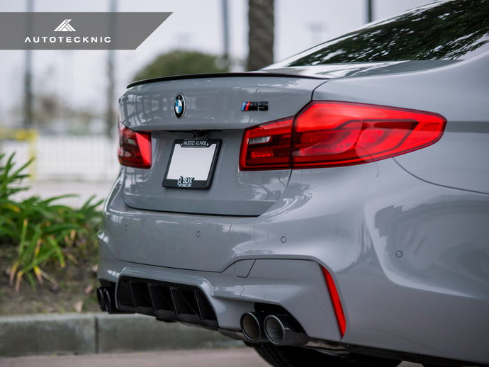 Shop AutoTecknic Dry Carbon Competition Rear Diffuser - F90 M5 - AutoTecknic