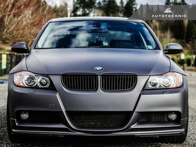 Shop AutoTecknic Replacement Stealth Black Front Grilles - E90 Sedan / E91 Wagon | 3 Series - AutoTecknic