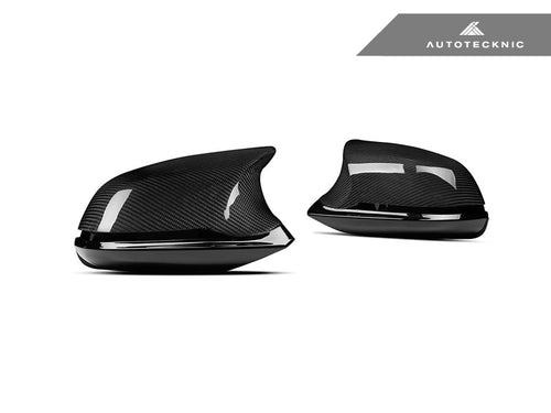 AutoTecknic Version III M-Inspired Complete Dry Carbon Mirror Housing Kit - F22 2-Series | F30 3-Series | F32 4-Series | F87 M2