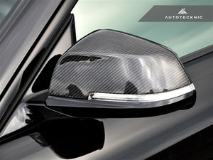 Shop AutoTecknic Replacement Carbon Fiber Mirror Covers - BMW F87 M2 - AutoTecknic