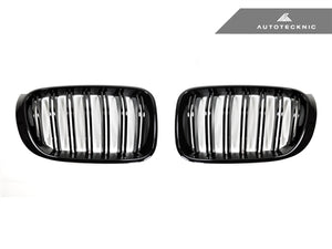Shop AutoTecknic Replacement Glazing Black Front Grilles - F25 X3 LCI | F26 X4 - AutoTecknic