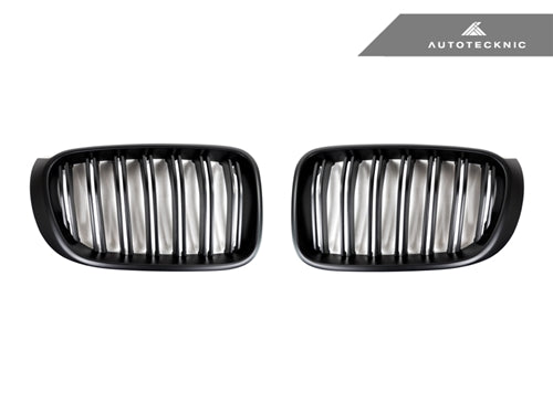 Shop AutoTecknic Replacement Stealth Black Front Grilles - F25 X3 LCI | F26 X4 - AutoTecknic